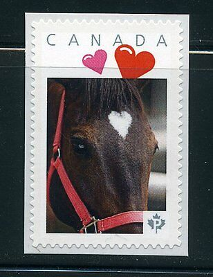 PICTURE POSTAGE   P   Hearts frame    2588a  PERSONALIZED     MNH  # 3