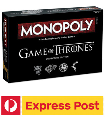 Game of Thrones Monopoly: Collector's Edition. Free Express Post