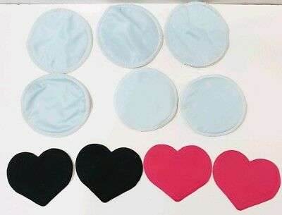 5 Sets Bamboobies Reusable Nursing Pads Leak-Proof Overnight and Ultra thin