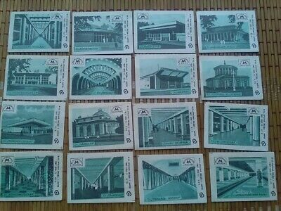 Soviet matchbox labels Metro stations of Soviet cities,USSR
