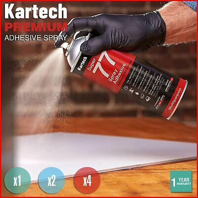 Kartech Spray Adhesive Glue Super Contact Strong Aerosol Can Wall Acoustic Foam