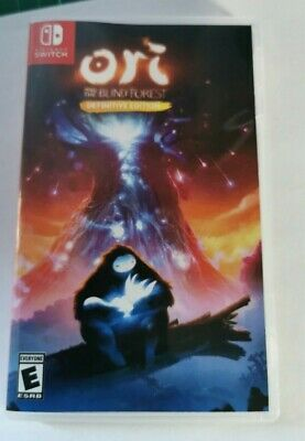 Nintendo Switch Replacement box - Case - Ori and the Blind Forest Definitive Ed
