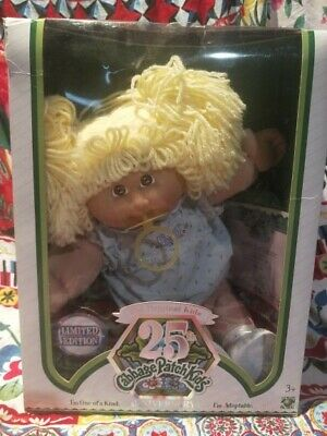 CABBAGE PATCH KIDS LIMITED EDITION 25TH ANNIVERSARY vintage in Box