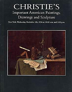 Christie's : Important American Paintings, Drawings and Sculpture : New York : D