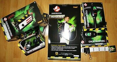 Ghostbusters Spirit Proton Pack Ghost Trap PKE Meter Ecto Goggles Belt 5 ItemLOT