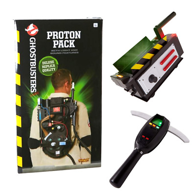 Ghostbusters Spirit Halloween Proton Pack, Ghost Trap, and PKE Meter 3 Item Lot