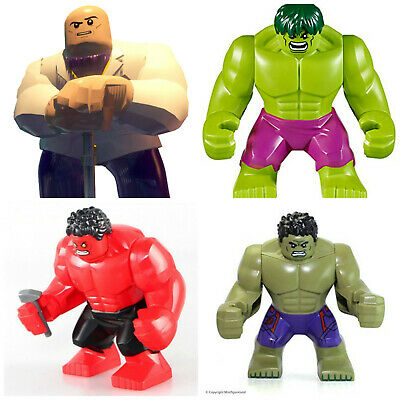 Marvel Dc super lego Hero Mini Figures Deadpool Venom Hulk Rhino Spiderman
