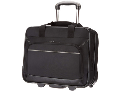 Laptop Rolling Bag Computer Case Travel Wheeled Wheels Carry Business 16 Inch
