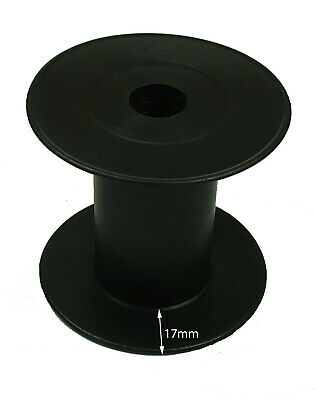 Plastic spools 60mm X  70mm ,ideal for twine,cord and thin ropes up to 4mm
