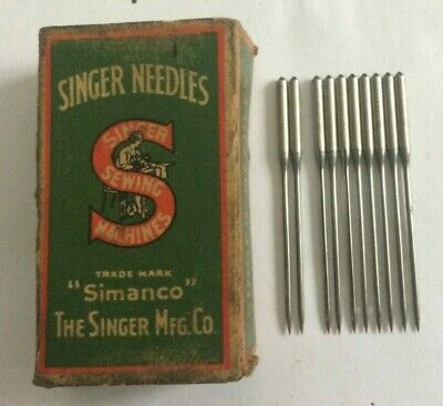 Singer vintage sewing machine class  62 x 21 Needles x 10 size 16
