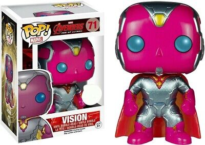 Funko Pop Marvel Avengers Age Of Ultron Vision #71