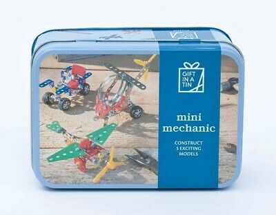 Mini Mechanic in a Tin Craft kit. Makes a great gift for both adults and kids.