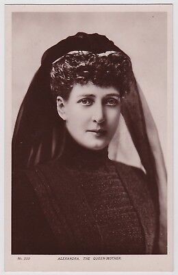 Postcard of Queen Alexandra, wife of Edward Vii (approx 1910)