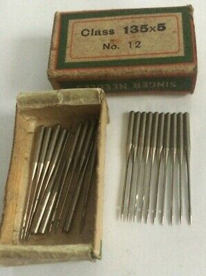 Singer vintage sewing machine class  135 x 5 Needles x 10 size 12
