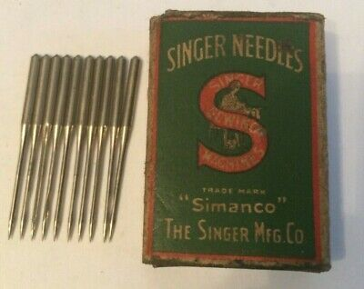 Singer vintage sewing machine class  135 x 1 Needles x 10 size 16