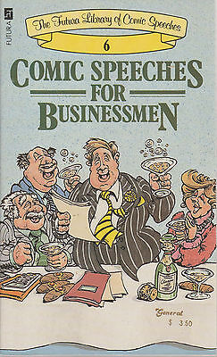 Comic Speeches for Businessmen Futura Library #6 paperback good condition