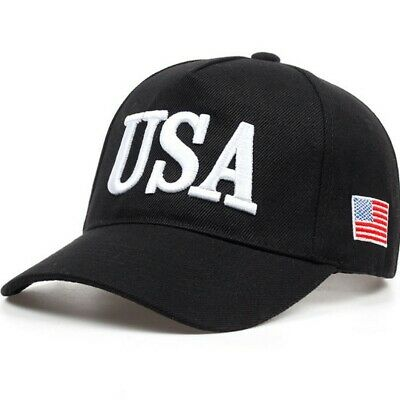 AKIZON USA Letter Hats Baseball Cap Women Men Dad Hat For Adult Fitted Patriotic