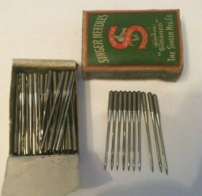 Singer vintage sewing machine class  135 x 7 Needles x 10 size 12