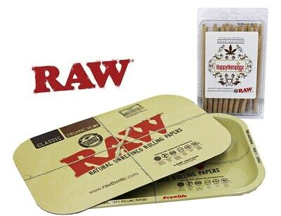 Raw 98 Special  Cones 50 Count+ Raw Rolling Tray With Raw  Magnetic  Lid
