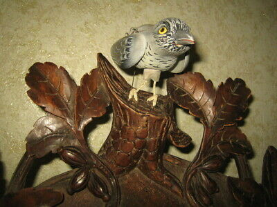 Antique Black Forest Wall Cuckoo Clock ,Rare
