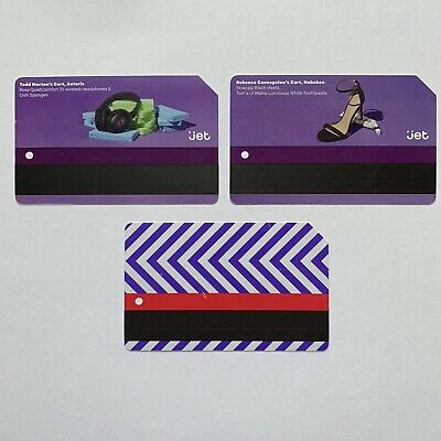Jet Complete Set (3) Metrocard - Expired in Good Condition *Collectible Items*