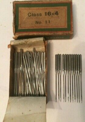 Singer vintage sewing machine class  16 x 4 Needles x 10 size 11
