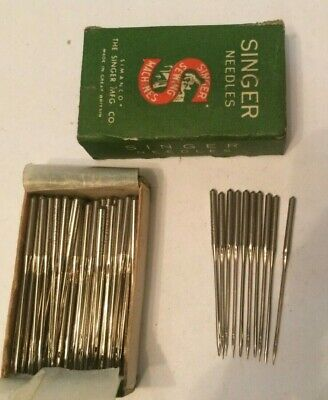 Singer vintage sewing machine class  16 x 4 Needles x 10 size 13