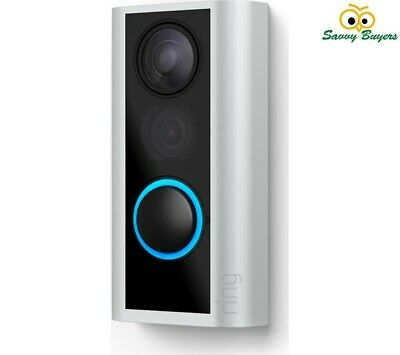 Ring Full HD 1080p Door View Cam with Additional Quick Release Battery - New UK