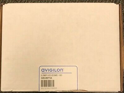 Avigilon 8.0MP-HD-DOME-180 Indoor Panoramic Dome Camera 180deg