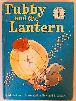 Tubby and the Lantern Dr. Seuss Beginner Books Perkins Wilson 1971 HC