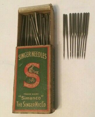 Singer vintage sewing machine class 16 x 11 Needles x 10 size 11