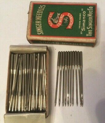 Singer vintage sewing machine class 175 x 1 Needles x 10 size 18
