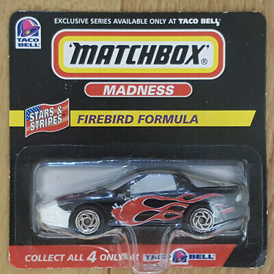 Taco Bell 1998 Exclusive Series Matchbox Madness VW Firebird Formula New