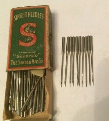 Singer vintage sewing machine class  135 x 8 Needles x 10 size 16