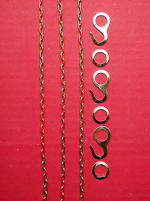 Hubert Herr,  genuine new cuckoo clock chains for KW 60 & KW 75 1 Day movements.