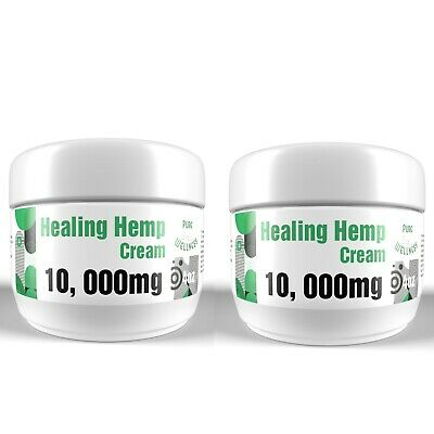 Hemp Pain Relief Cream - 10,000mg Hemp Oil with Peppermint and Menthol (4oz)