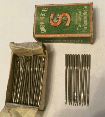 Singer vintage sewing machine class  16 x 233 Needles x 10 size 22