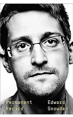 Permanent Record Political Intelligence Social by Edward Snowden Hardcover NEW