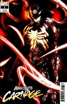 Absolute Carnage #1 Gabriele Dell'Otto 1:25 Variant Marvel Comics NM 2019