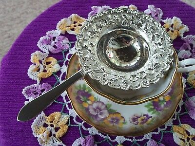 Sterling Silver Tea Strainer Kirk & Son Co 925/1000