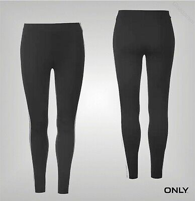 Ladies Only Full Length Elasticated Stripe Kia Panel Leggings Sizes from 8 to 16