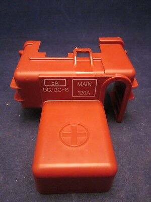 TOYOTA PRIUS 2008 12V Battery Terminal Cover Red + Positive ~ EXCELLENT