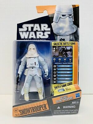 Star Wars Saga Legends SL23 Snowtrooper The Empire Strikes Back Hasbro 2010