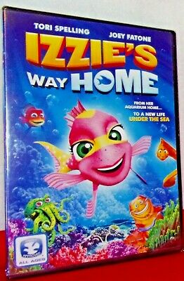 Izzie's Way Home - Dvd - Brand New Factory Sealed - Free Shipping