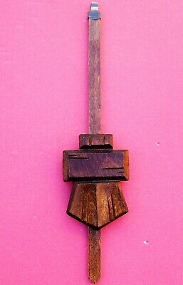 New genuine black Forest cuckoo clock pendulum,  Large chalet style,  ( 7 )