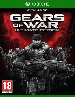 Gears of War Game Ultimate Edition Xbox One Sealed Microsoft