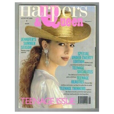 Harpers & Queen Magazine August 1989 MBox9 Teenage Issue