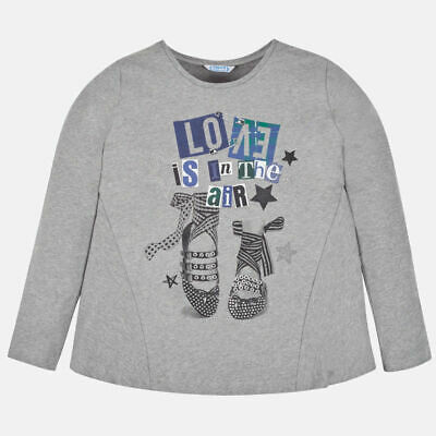New Mayoral girls long sleeved flared t-shirt, Age 8 years (7020)