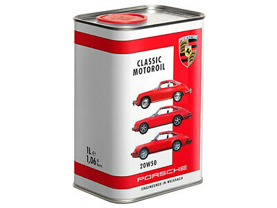 Genuine Porsche 911/356/914 1965-1973 Classic Motor Oil 20W50 1 Litre NEW