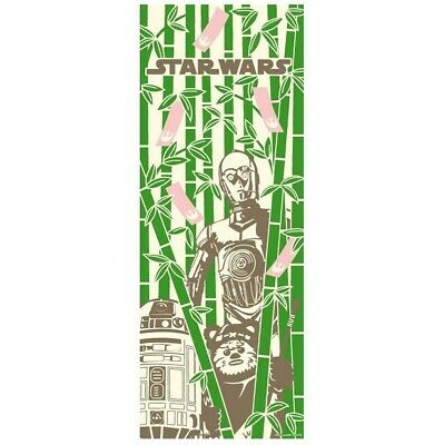 STAR WARS TENUGUI Japanese Cotton Fabric Hand Towel MADE IN JAPAN 90X34cm T22